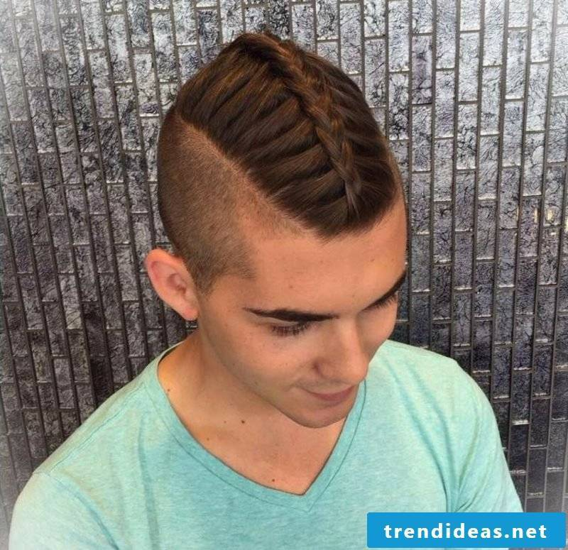 playful braiding long hair men's hairstyles for 2015