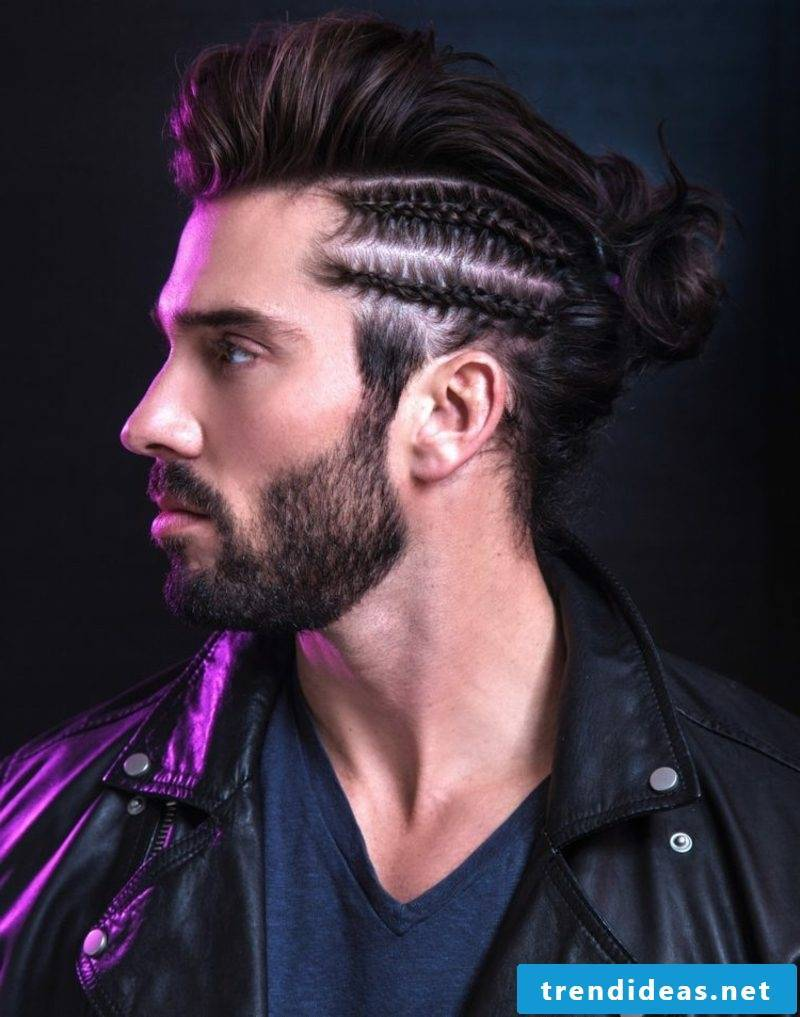 Braided hairstyle original look Men's hairstyles for 2015