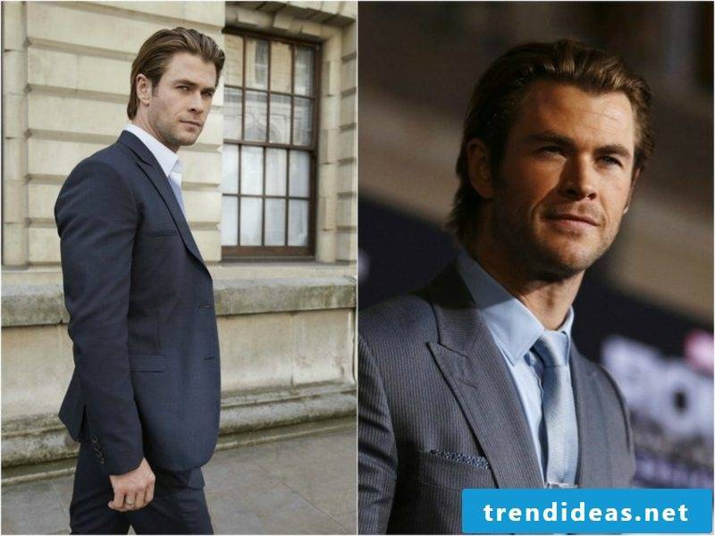 Men's hairstyles for 2015 medium length hair styled back