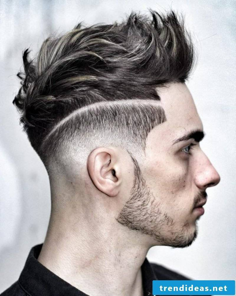 Men's hairstyles for 2015 extravagant fade hairstyle