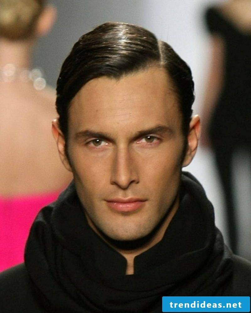 Men's hairstyles for 2015 Short hairstyle with side parting