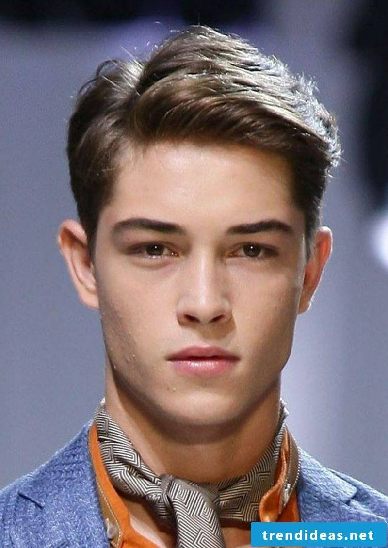 Men's hairstyles for 2015 short hair interesting hairstyle with side parting