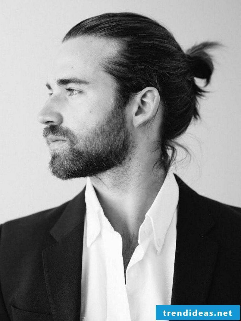 modern men's hairstyles for 2015 long hair Man Bun