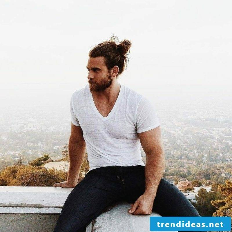 Men's Hairstyles for 2015 Man Bun