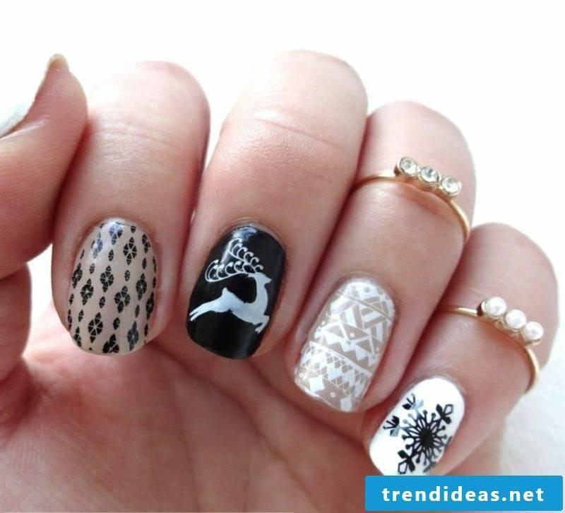Nail art design for christmas christmas ideas