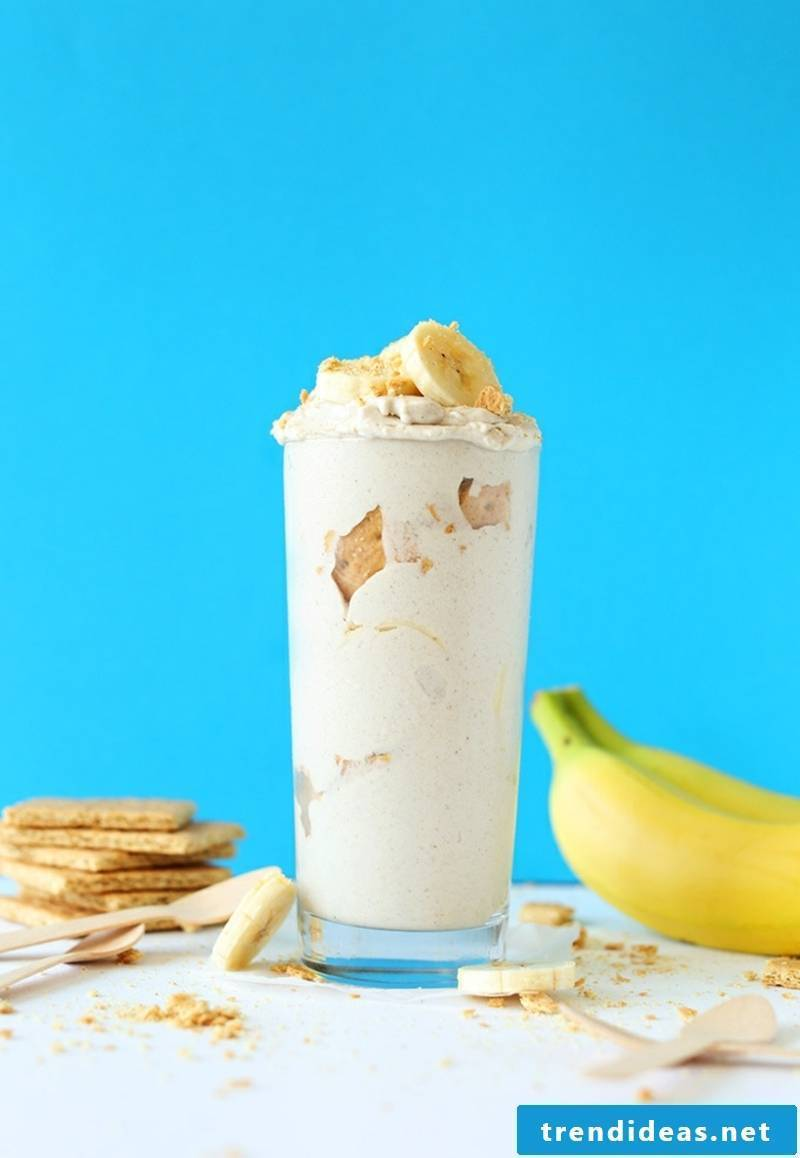 Banana Cream Pie Blizzards vegan pies