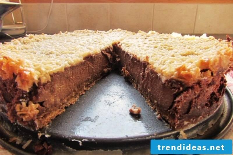 Chocolate Banana Coconut Cheesecake Vegan Pies