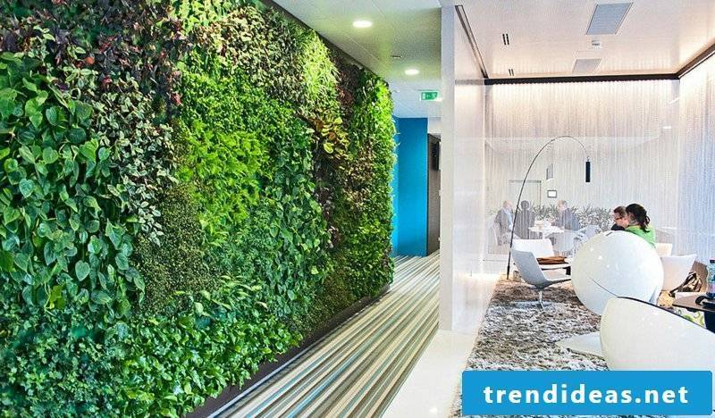 vertical garden office ideas