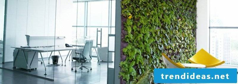 vertical garden office ideas office