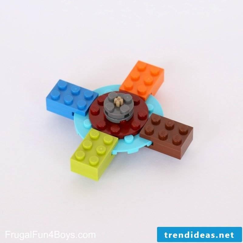 Fidget spinner from Lego