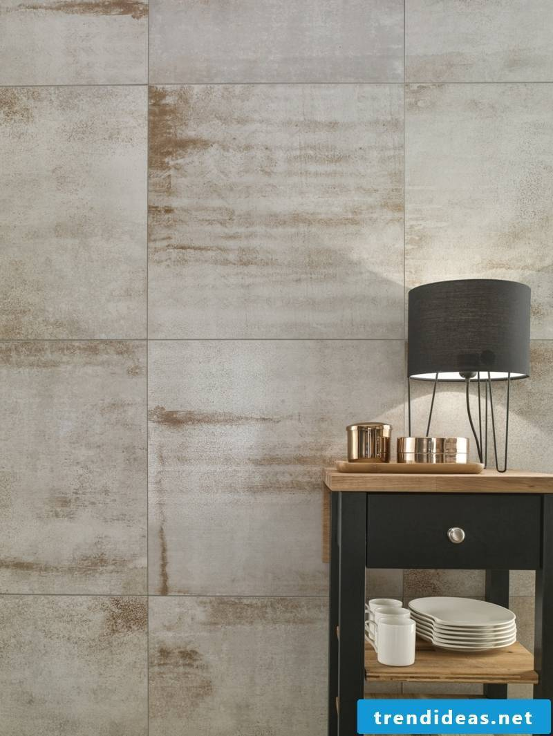 villeroy and boch tiles Collection Metallic Illusion light gray