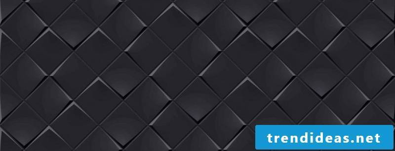 villeroy and boch tiles Collection Monochrome Magic black Detail view