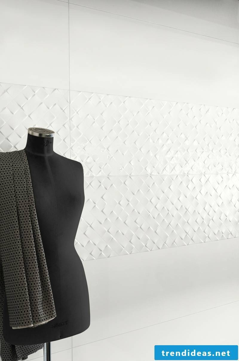 villeroy and boch tiles Collection Monochrome Magic in white
