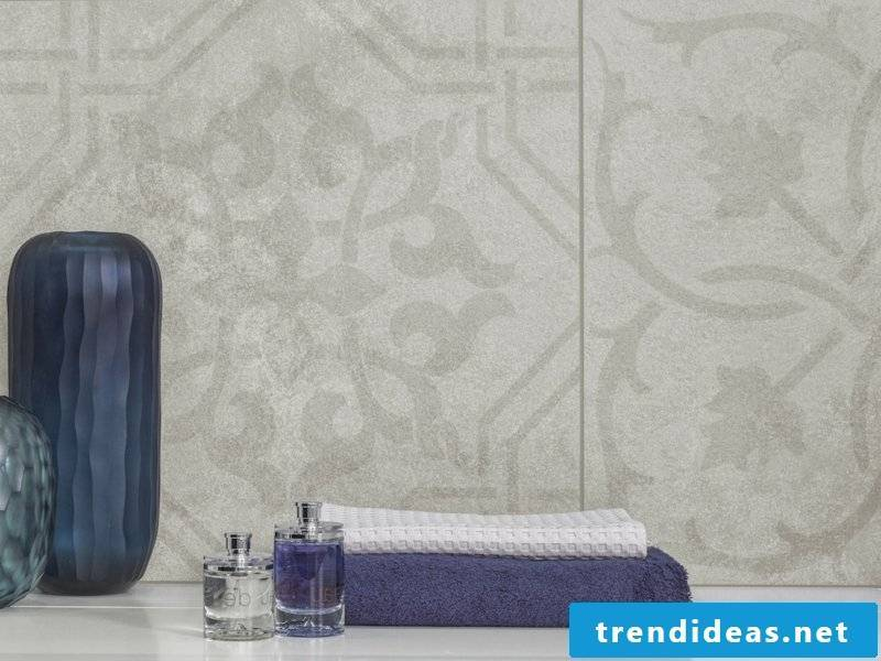 villeroy and boch tile collection Newtown flowers and shapes