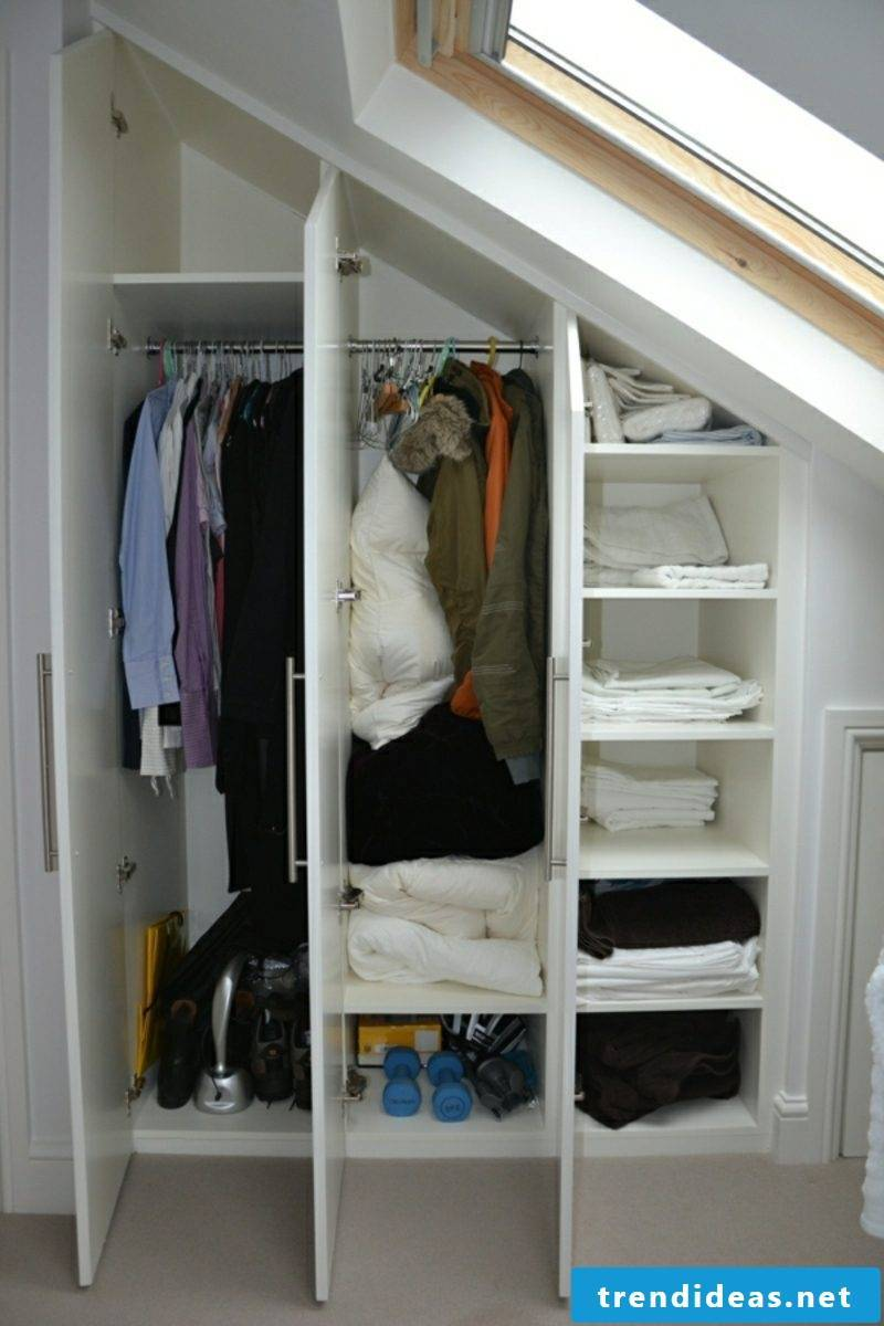 Walk In Wardrobe Under Sloping Roof Ideas And Planning Tips