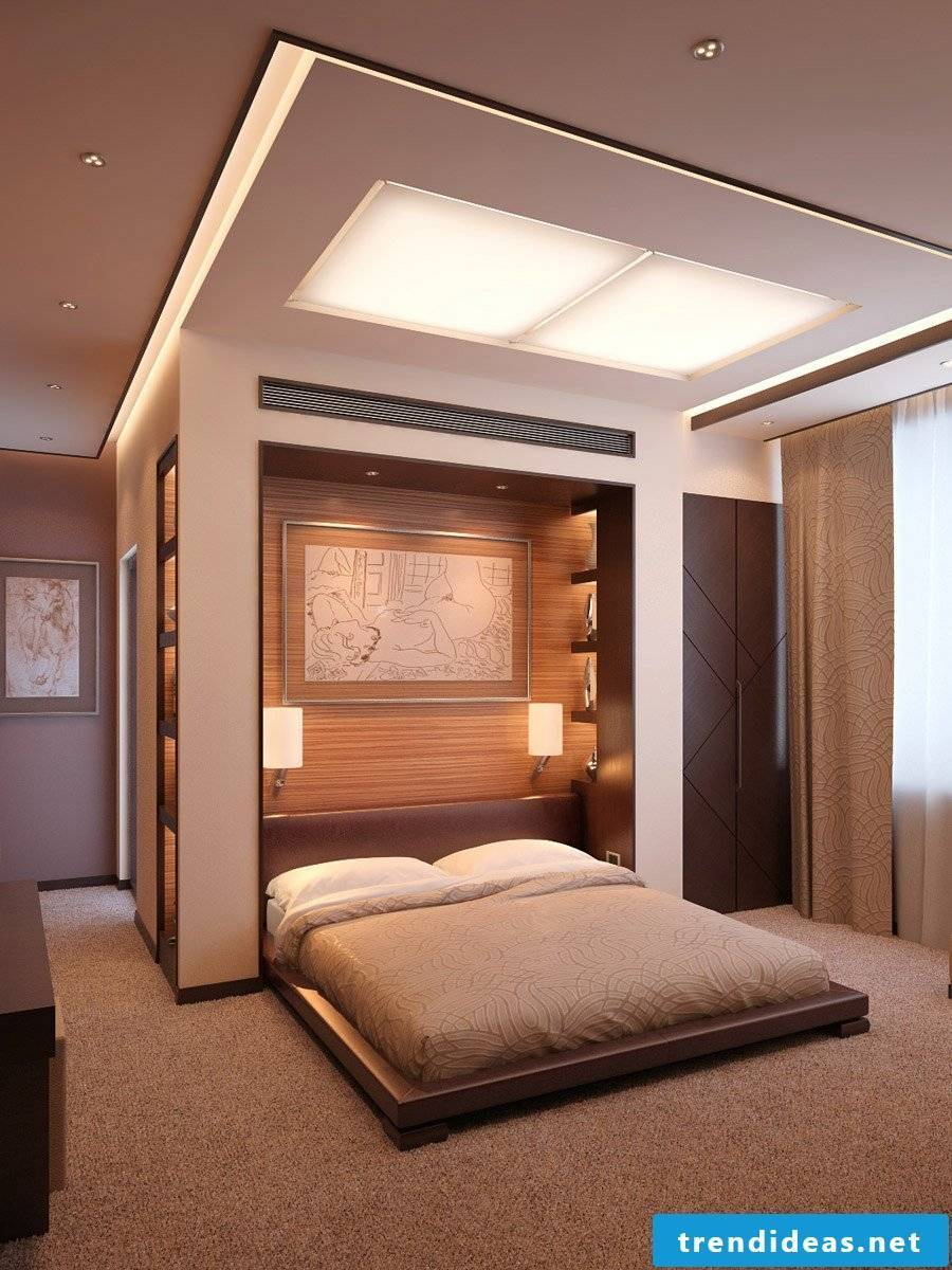 Dress the bedroom's wall - great ideas