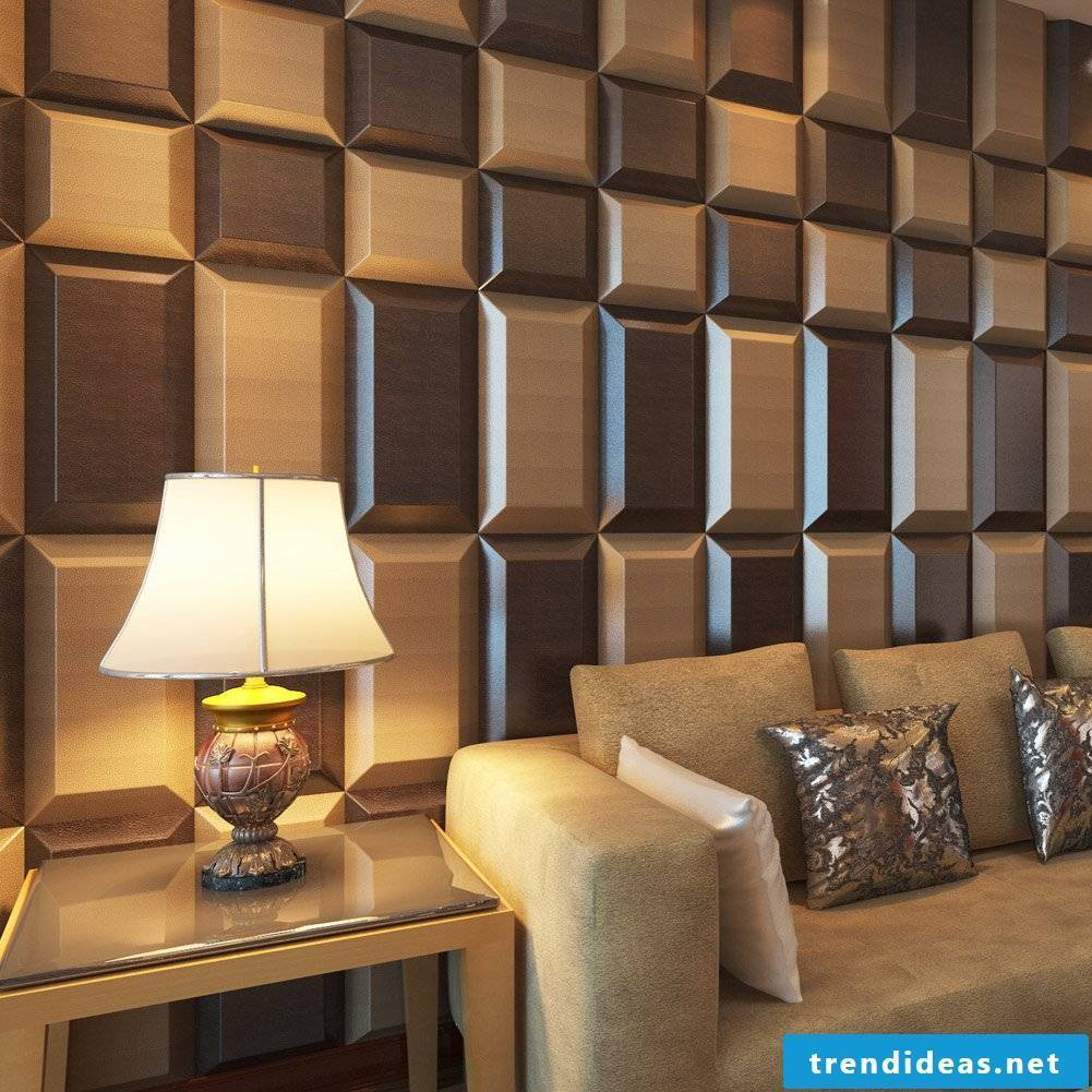 3D wall panels made of wood - we are in love with the detail and you?