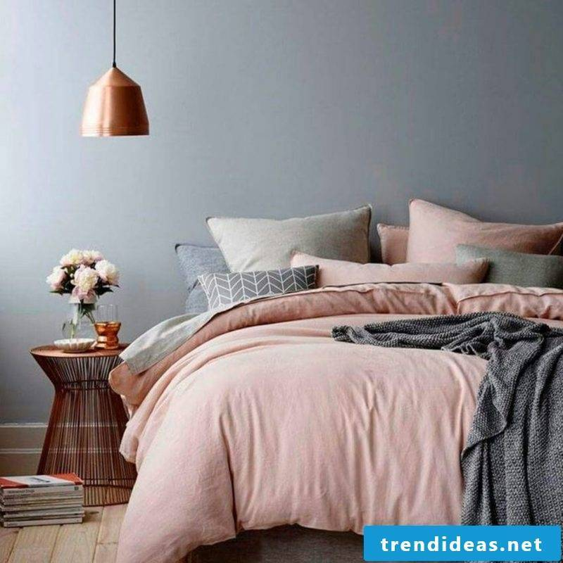 wall design bedroom ideas grays pink wall colors home decor