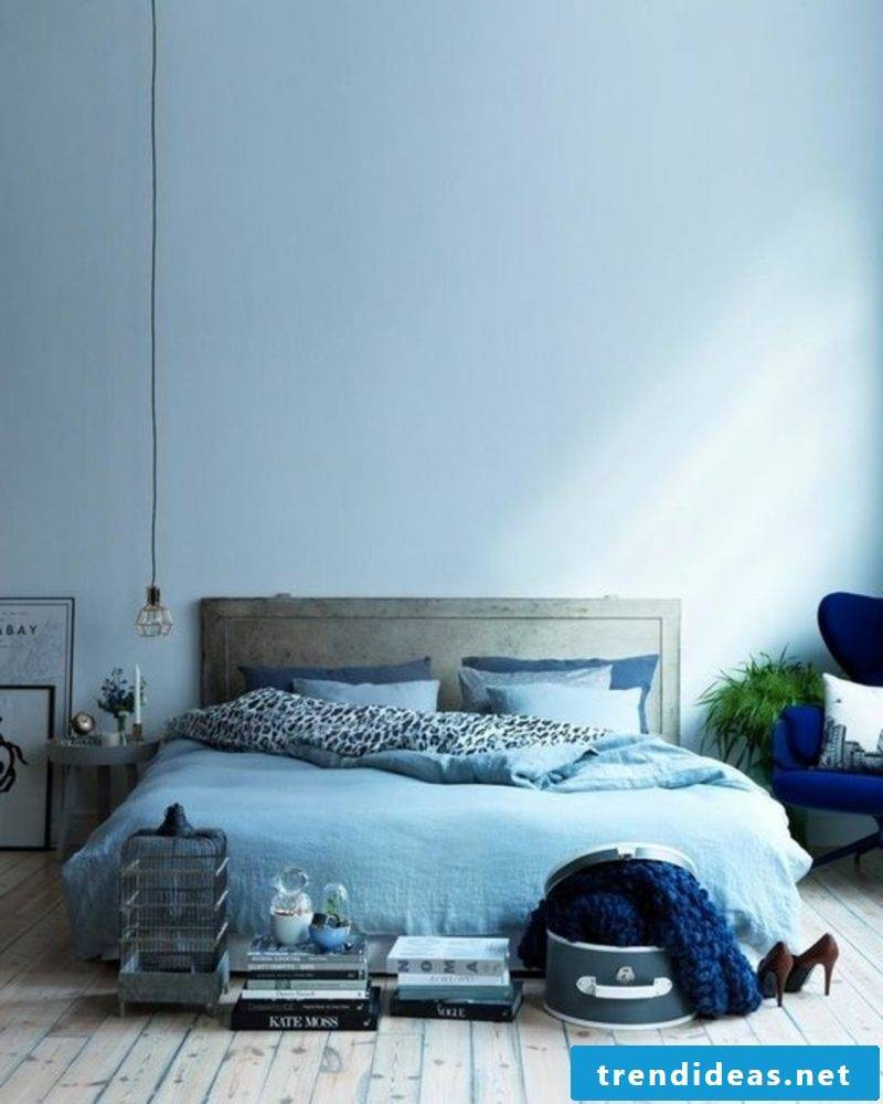 wall design bedroom ideas blue decorating ideas