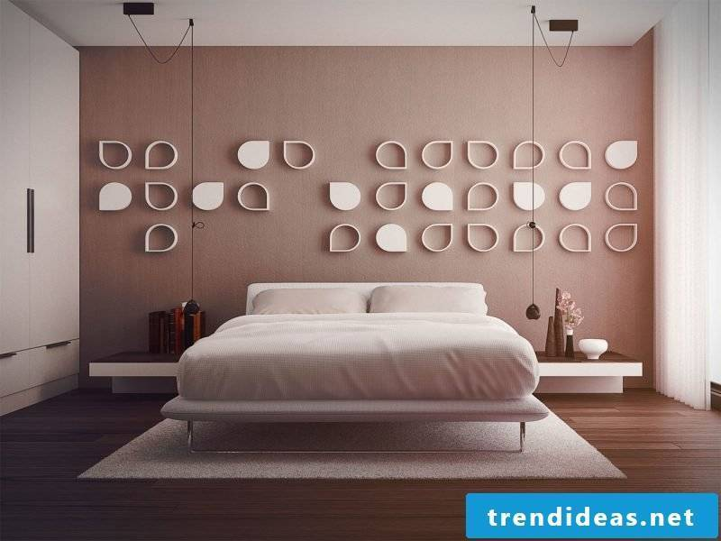wall design bedroom ideas pink wall colors home ideas