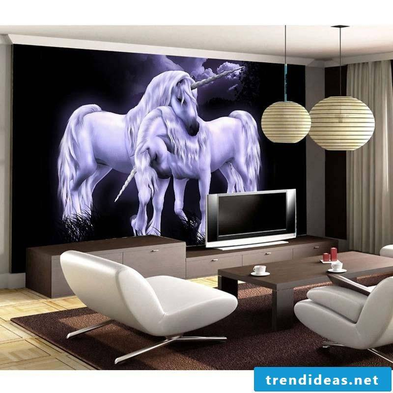 Wall mural cheap can be a real eye-catcher