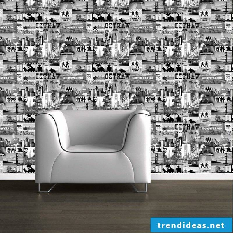 Wall mural cheap you will find in limited motif selection