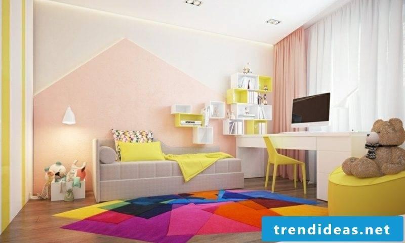 Wall color altrosa beautiful living nursery