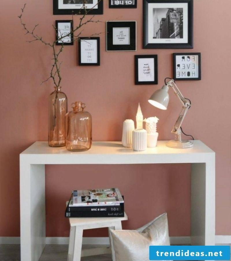 Wall color altrosa beautiful living