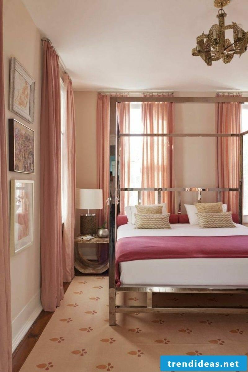 Wall color altrosa beautiful living curtains bedroom