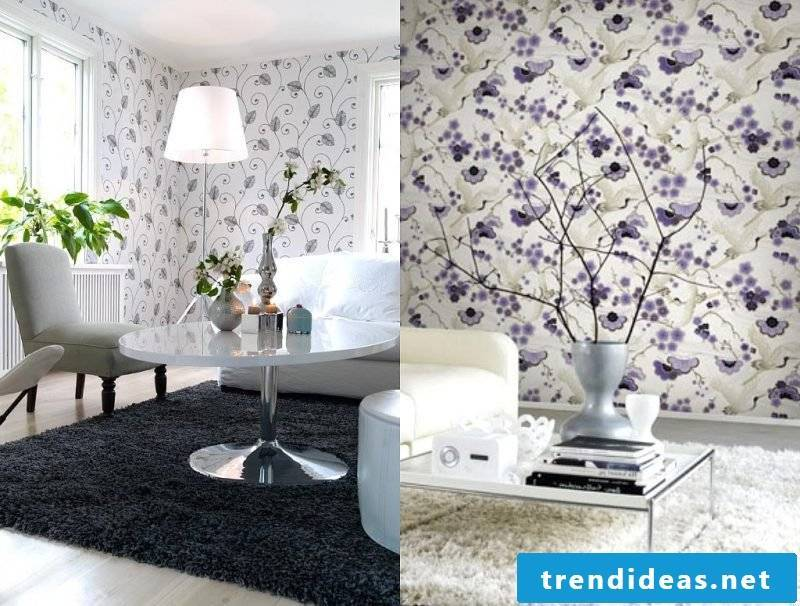 Bring nature home when designing your wallpaper yourself