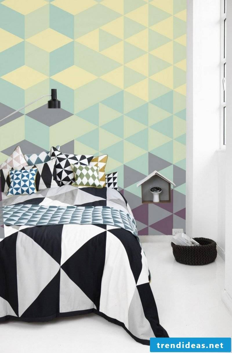 Give an individual touch of your home when you design your wallpaper yourself