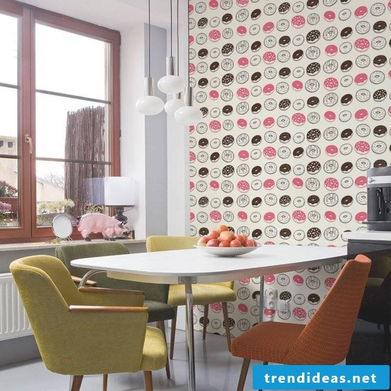 wallpaper for kitchen funny