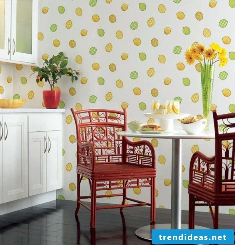 wallpaper for kitchen bright