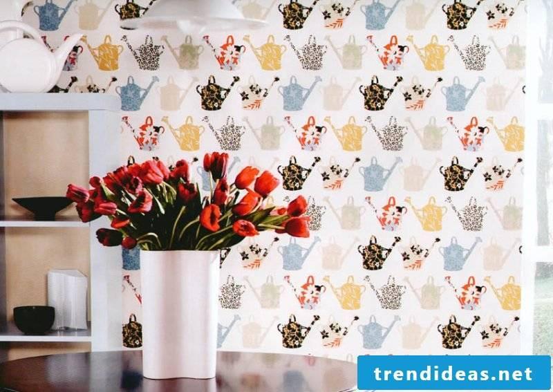 wallpaper for kitchen interesting
