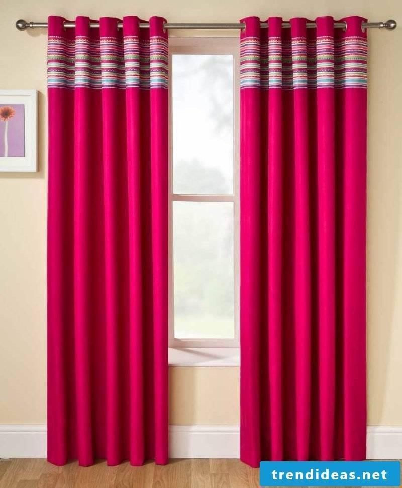 Clean curtains make a good impression!