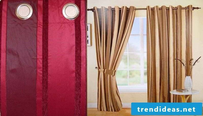 Clean curtains for a nice window decoration!