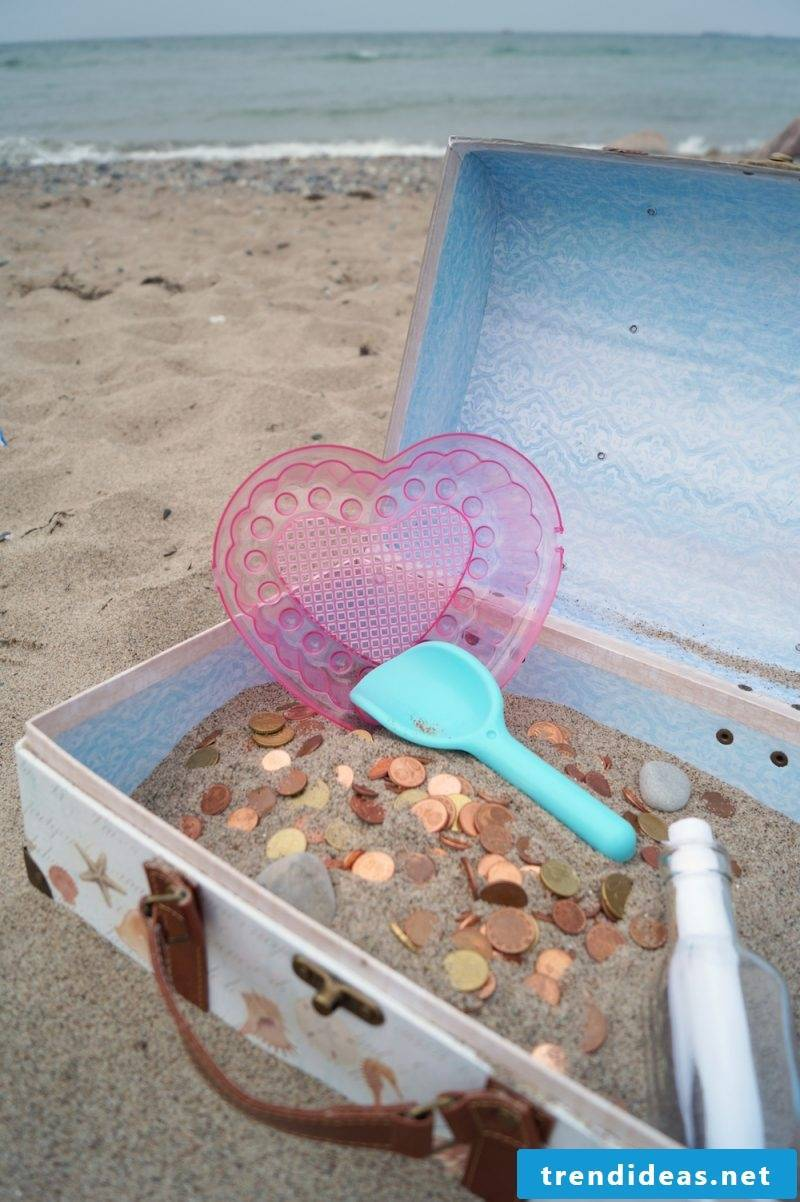 Wedding gifts homemade - treasure chest