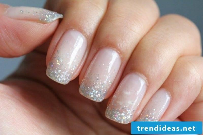 Wedding nails design modern ideas