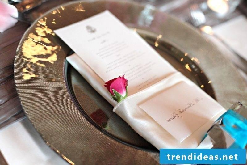 wedding napkins stylish