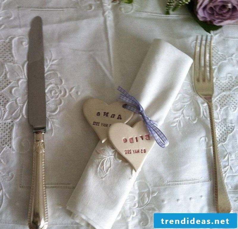 wedding napkins discreet