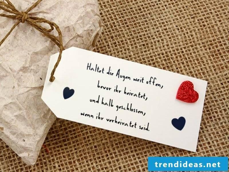 Heart sayings wedding funny
