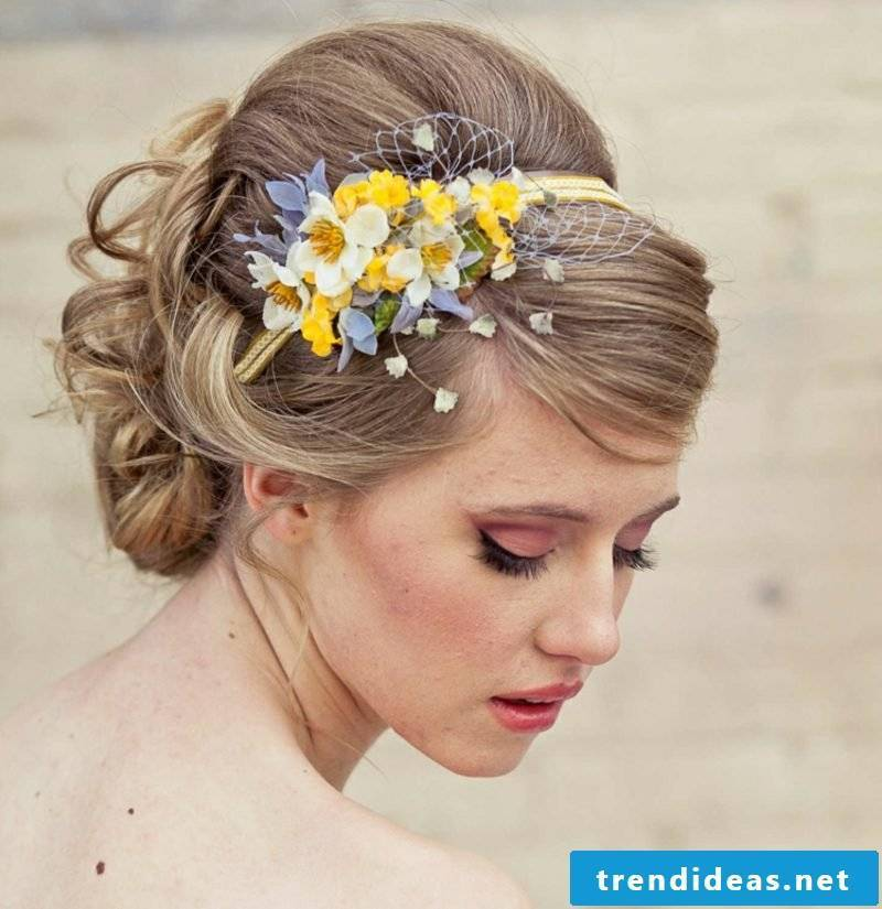 Hairstyles medium length 2016 bride