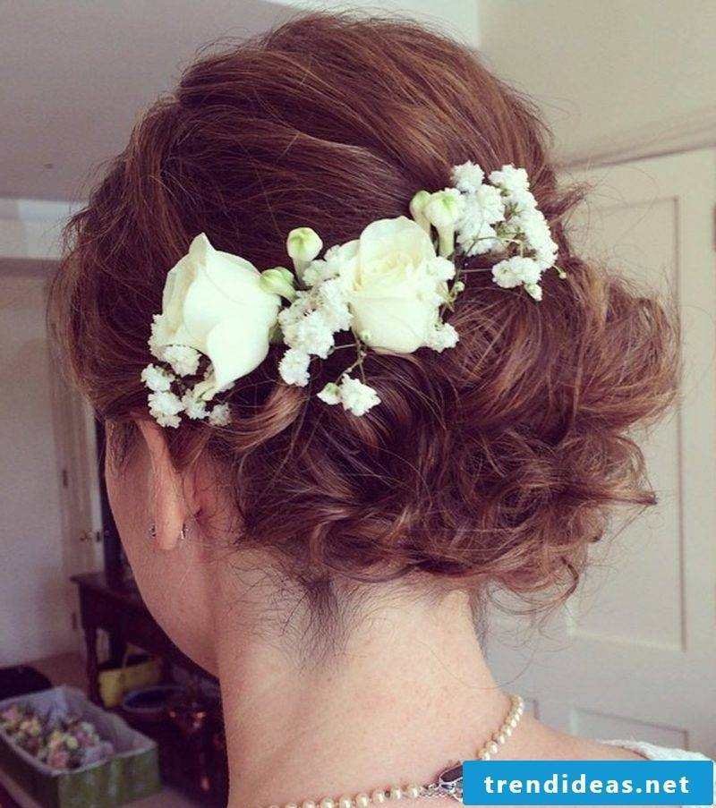 Hairstyles Half Length Hair Wedding
