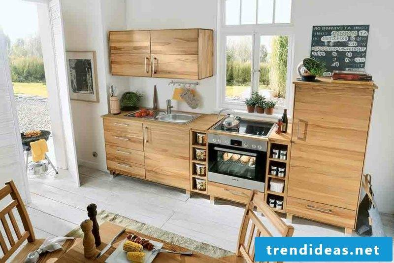 Modular kitchen in country style