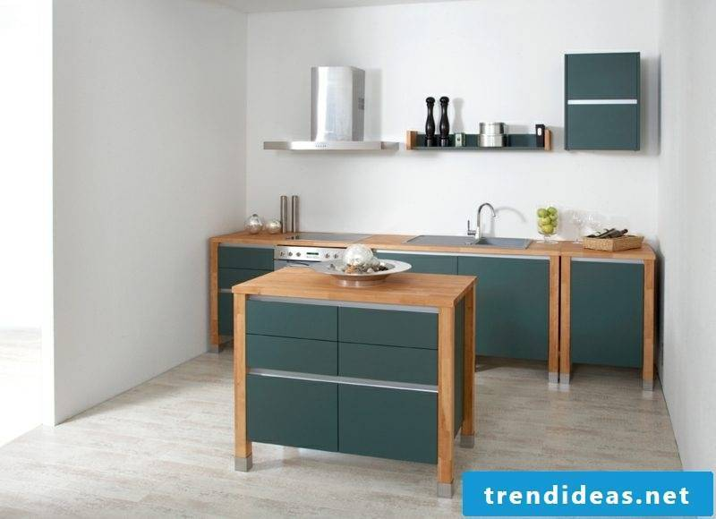Wooden modular kitchen modern look