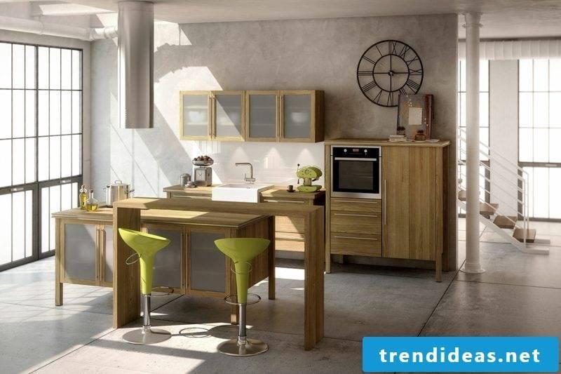 modern modular kitchen solid wood