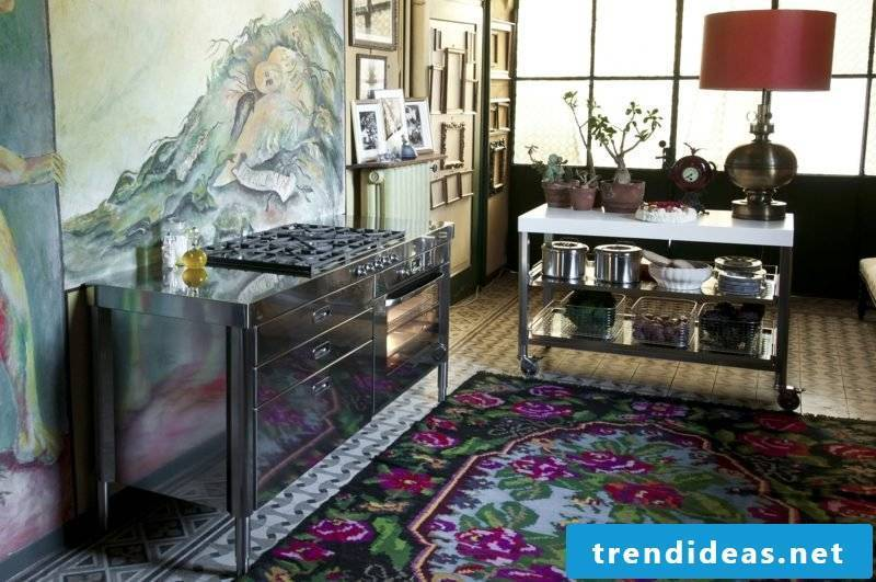 Modular kitchen stainless steel