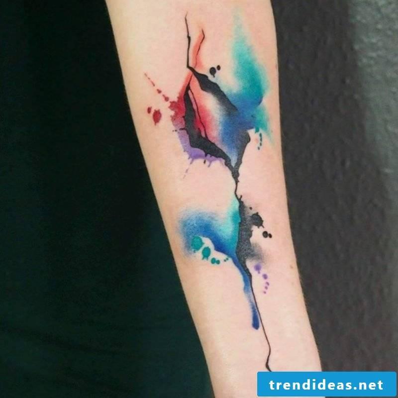 Watercolor Tattoos impressive design ideas