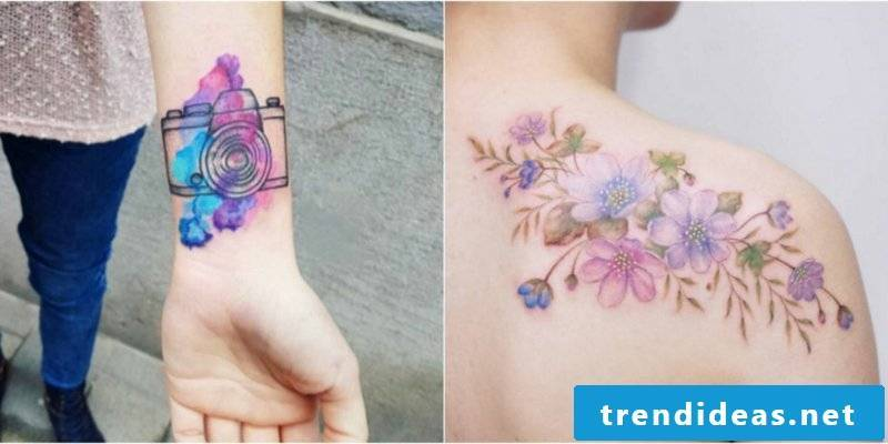 Watercolor tattoos important questions