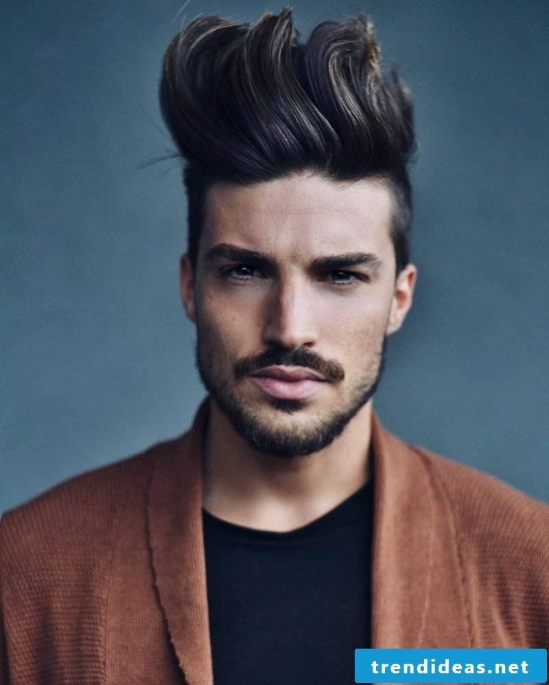 Hairstyles with pony men extravagant